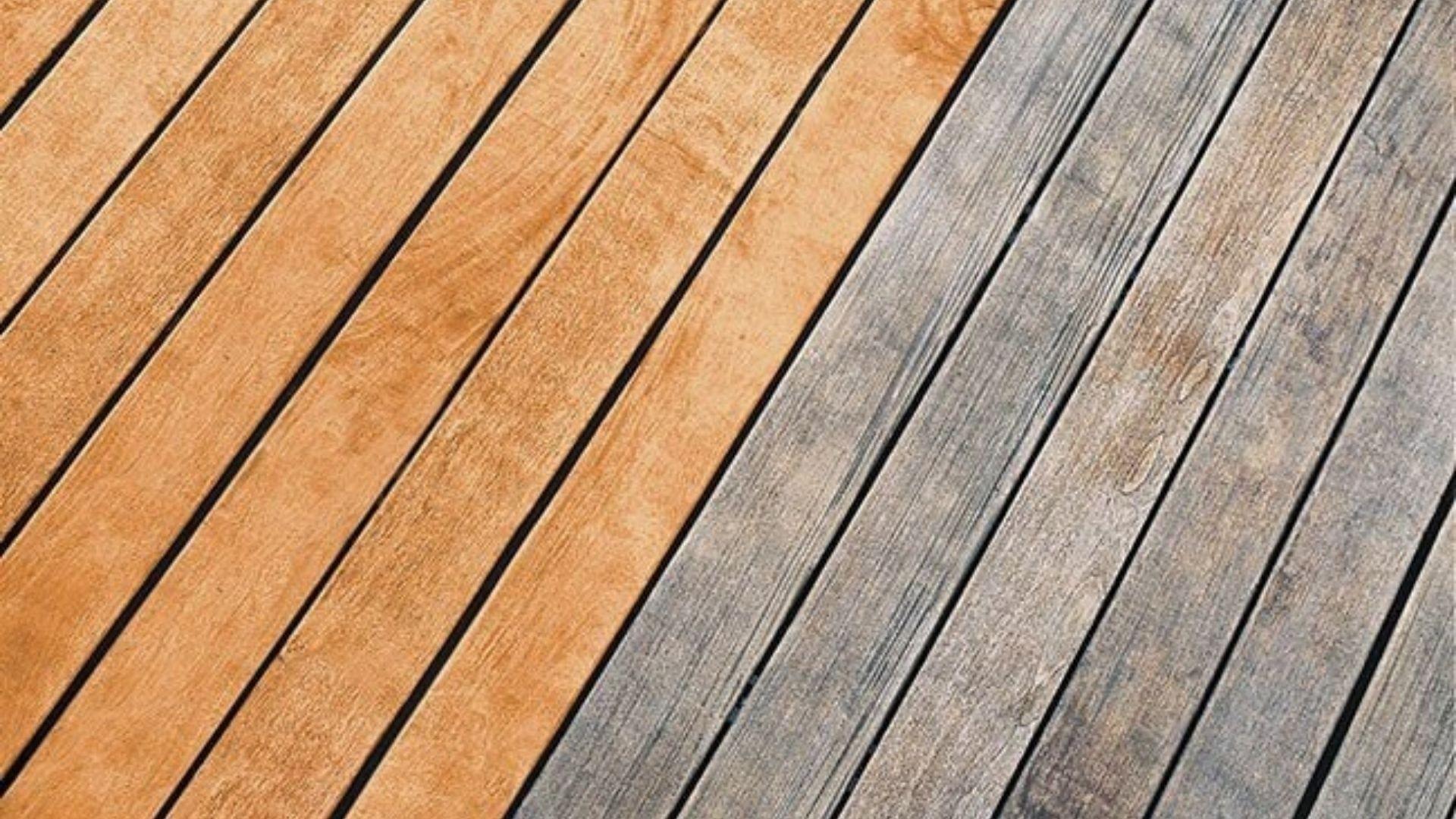 nettoyage de terasse en bois
