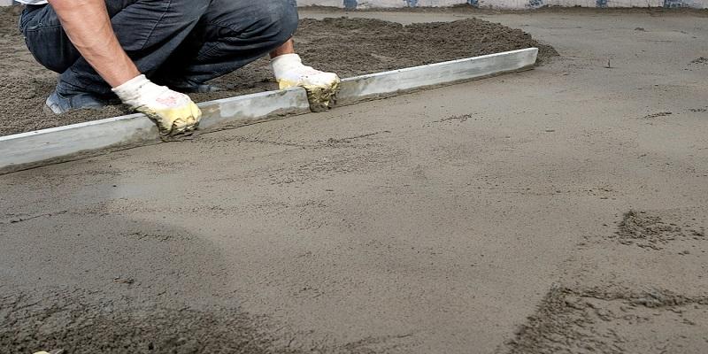 Dalle beton terasse